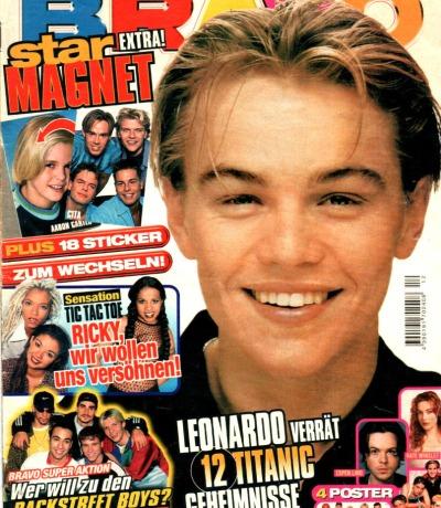 Bravo Nr.12 1998 Heft - Jetzt online Kaufen - Leonardo DiCaprio The Moffatts Tic Tac Toe Spice Girls