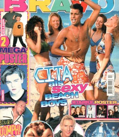 Bravo Nr.13 1998 Heft - Wes BSB Cita Oomph Madonna Guildo Horn The Boyz RnG