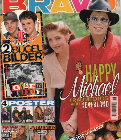 Bravo Nr.19 1995 Heft - Caught in the Act Kelly Family East 17 Michael Jackson