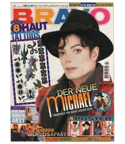 Bravo Nr. 2 1995 Heft - Jetzt online Kaufen - Michael Jackson The Cranberries Worlds Apart PJ & Duncan