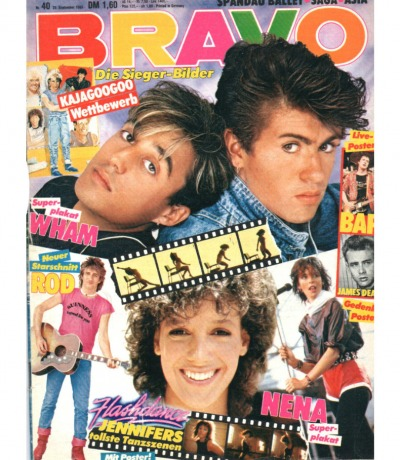 Bravo Nr.23 1983 Heft - Nena Wham Spandau Ballet Meat Love Freeez