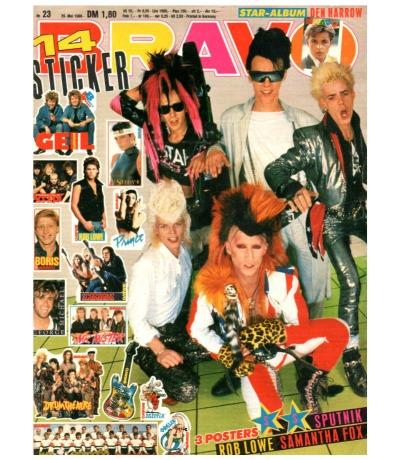 Bravo Nr.23 1986 Heft - Rob Lowe Sandra Falco