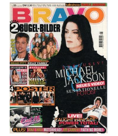 Bravo Nr.25 1995 Heft - Jetzt online Kaufen - Michael Jackson Kelly Family Caught un the Act East 17