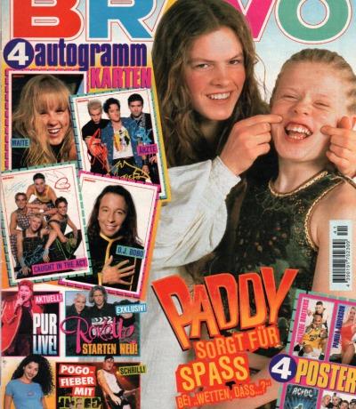 Bravo Nr.41 1995 Heft - Technohead PUR Kelly Family Roxette The Bates