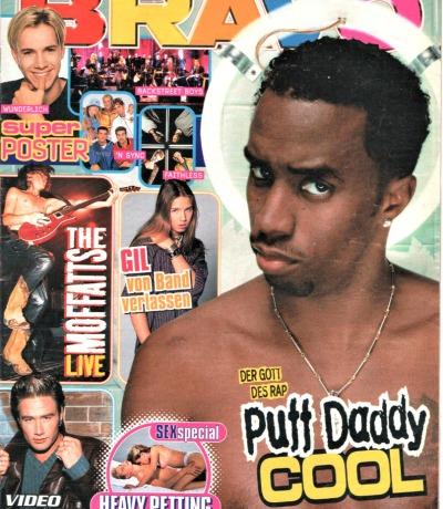 Bravo Nr.41 1998 Heft - Puff Daddy Die Rote Rose Gil DJ Bobo The Moffatts Sasha