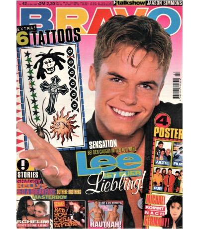 Bravo Nr.42 1995 Heft - Jetzt online Kaufen - Shaggy Caught in the Act Michael Jackson Bed & Breakfast