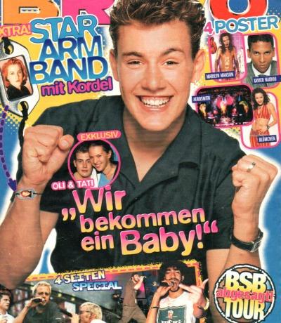 Bravo Nr.42 1998 Heft - Ricky Martin Blümchen The Kelly Family