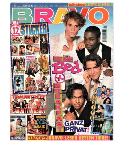 Bravo Nr.43 1995 Heft - Jetzt online Kaufen - Caught in the Act Take That Jaason Simmons Maximilian Gr