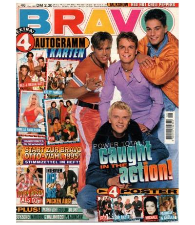 Bravo Nr.46 1995 Heft - Jetzt online Kaufen - Blur Caught in the Act Ace of Base Mark Oh Toten Hosen