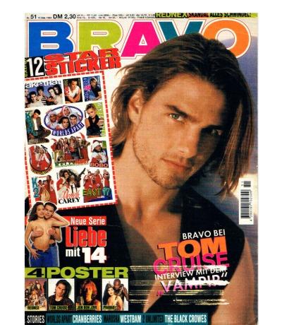 BRAVO Nr51 Komplett Heft Magazin Jugend-Magazin