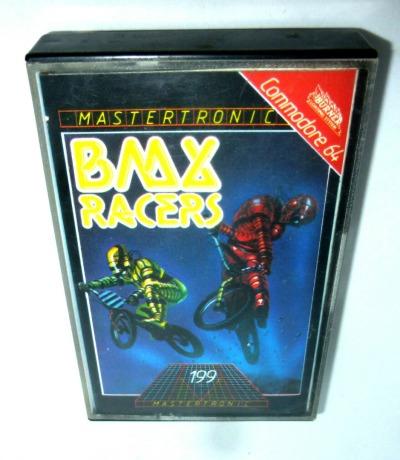 C64 BMX Racer Kassette Datasette MC