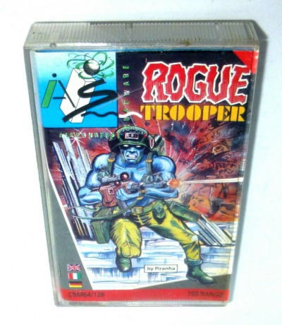 C64 Rogue Trooper Kassette Datasette MC