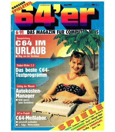 Ausgabe 6/91 1991 - 64er Magazin