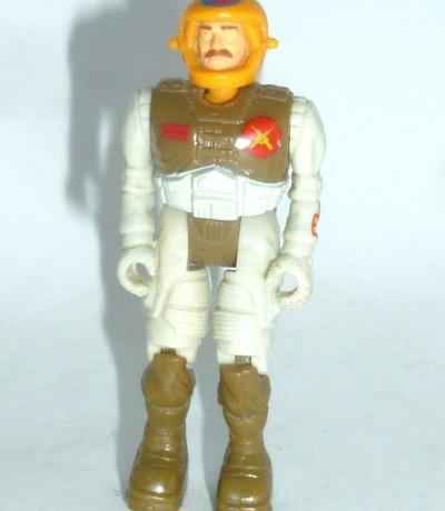 Capt. Rick Ruffing - Starcom Actionfigur Captain - Vintage Figur aus den 80ern.