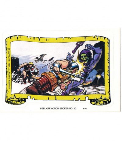 Ram Man vs Skeletor Sticker von