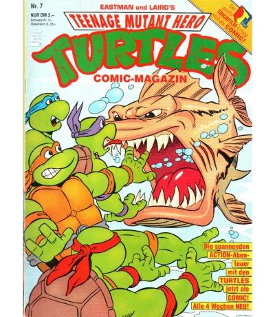 Teenage Mutant Hero Turtles - Comic Nr. 7 - Ninja Turtles