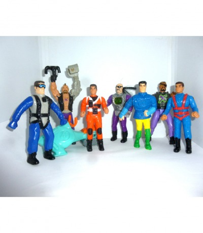 Action Man Figuren von McDonalds