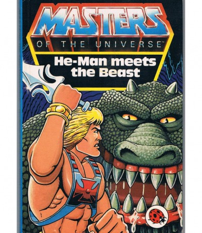 Comic He-Man meets the Beast Masters