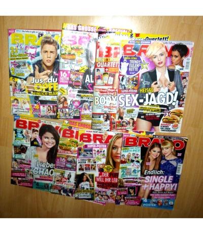 8 Hefte von 2013 - Bravo