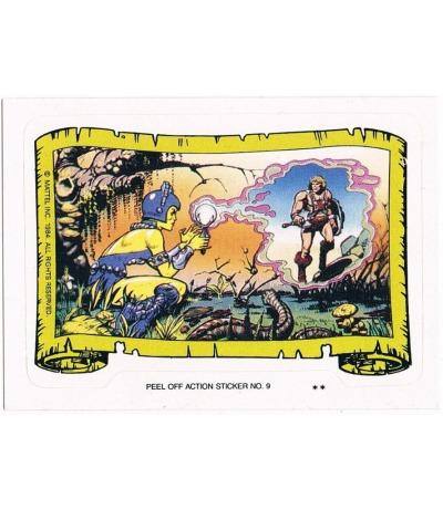 Evil-Lyn Sticker von Topps Masters of