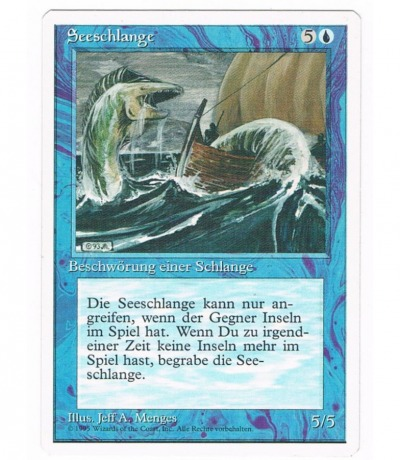 Seeschlange - Magic the gathering