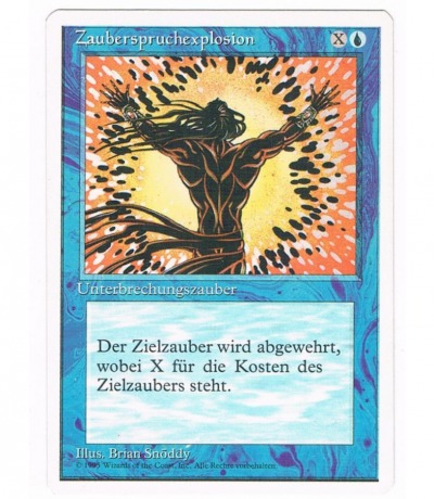 Zauberspruchexplosion - Magic the gathering