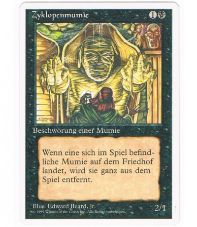 Zyklopenmumie - Magic the gathering
