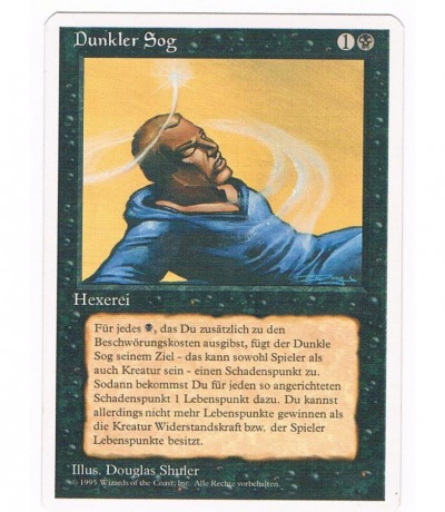 Dunkler Sog - Magic the gathering