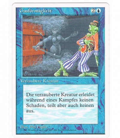 Gasförmigkeit - Magic the gathering