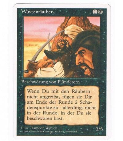 Wüstenräuber - Magic the gathering
