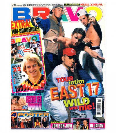BRAVO Nr25 fast komplett Jugend-Magazin Heft