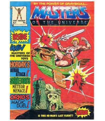 Comic By the Power of Grayskull