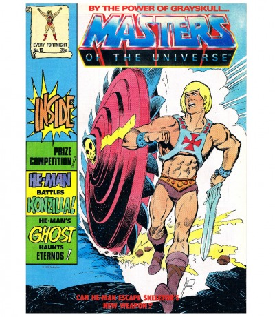 Comic By the Power of grayskull