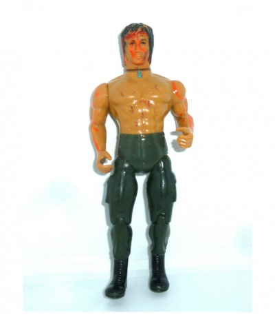 John Rambo Actionfigur - schlechter Zustand