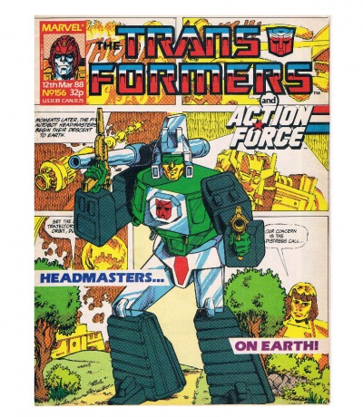 The Transformers - Comic Nr/No 156