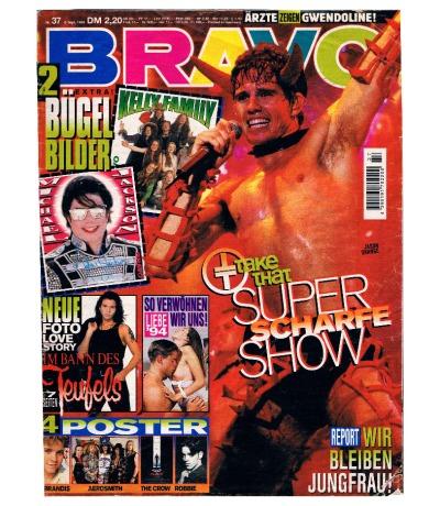 BRAVO Nr37 Jugend-Magazin Heft Jetzt online