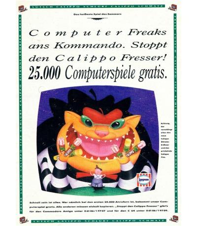 Stoppt den Calippo Fresser Langenese Werbung