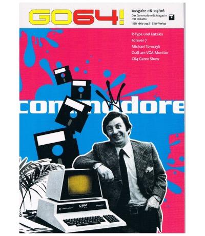 Ausgabe 06-07/06 GO64 Das Commodore-64-Magazin Retro
