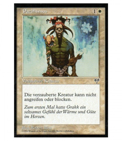 Pazifismus - Magic the gathering