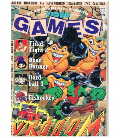 Ausgabe 5/93 Video Games Magazin Heft
