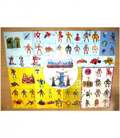 Masters of the Universe Figuren Poster