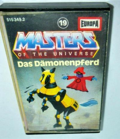 Masters of the Universe - Das Dämonenpferd - Nr. 19 - He-Man Hörspiel - MC / Kassette