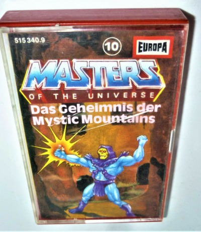 Das Geheimnis der Mystic Mountains - Nr. 10 - Masters of the Universe / He-Man Hörspiel - MC / Kassette