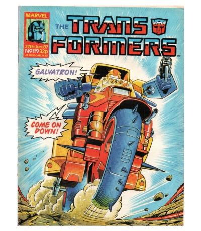 The Transformers - Comic Nr/No 119