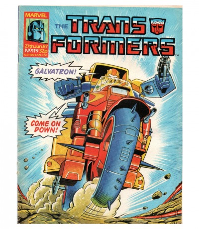 The Transformers Comic Generation G1 Jun