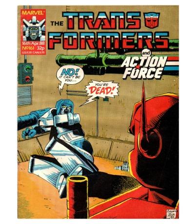 The Transformers - Comic Nr/No 161