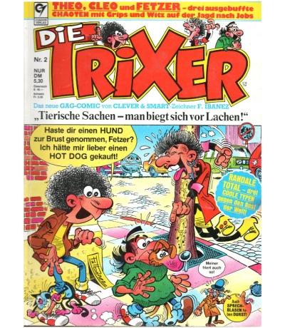 Die Trixer - Comic - Ausgabe 2
