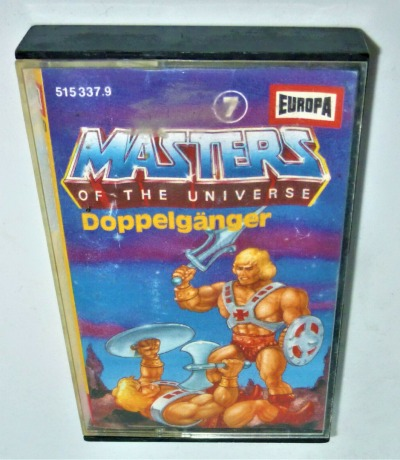 Doppelgänger - Nr.7 - Masters of the Universe / He-Man Hörspiel - MC / Kassette