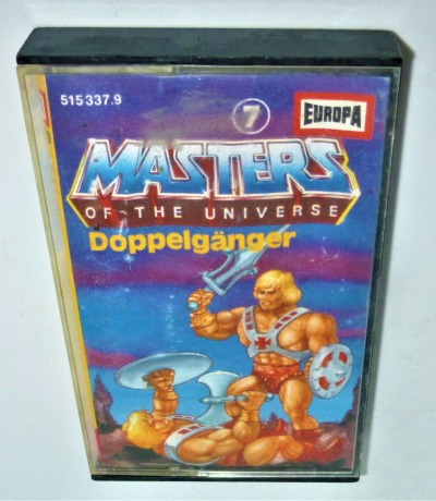 Masters of the Universe - Doppelgänger - Nr.7 - He-Man Hörspiel - MC / Kassette