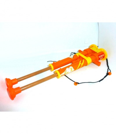 Double Barreled Plunger Gun Zubehör Teenage